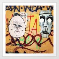 Wall Milan! Art Print