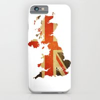 Union Jack Map - Olympics London 2012 iPhone 6 Slim Case