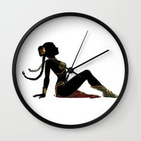 Slave Leia Mudflap Wall Clock