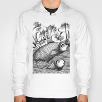 Hoody featuring The Golden Fish (1) by Judith Clay