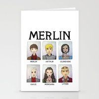 MERLIN Stationery Cards