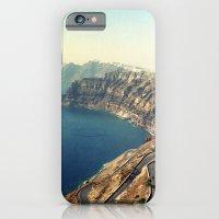 The insane roads of Santorini iPhone 6 Slim Case