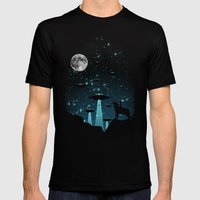 Contact Mens Fitted Tee Black SMALL