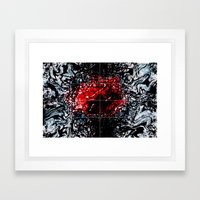The Tell-Tale Framed Art Print