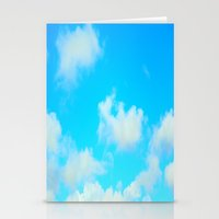 clouds Stationery Cards featuring Clouds by 2sweet4words Designs