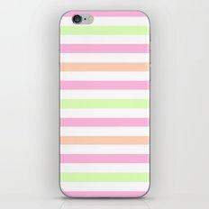 SHERBET STRIPES 2 iPhone & iPod Skin