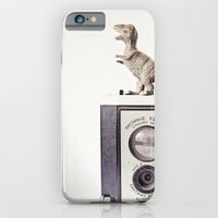 iPhone & iPod Case featuring The Dinosaur and The Brownie by Susannah Tucker