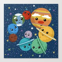 Out Of This World Cutene… Canvas Print