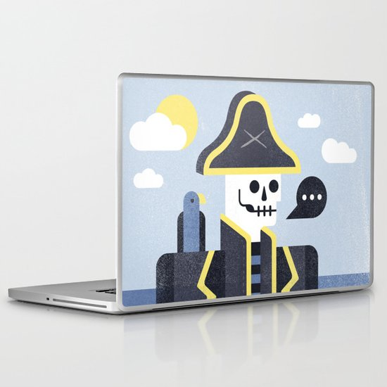Dead Men Tell No Tales Laptop & iPad Skin