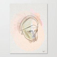 One line Theseus Canvas Print