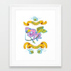 a drink my love ? Framed Art Print