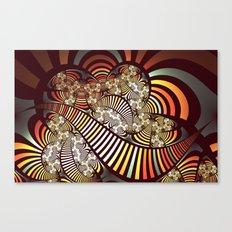 Vintage fractal 1 Canvas Print