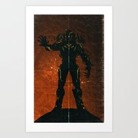 Halo 4 - The Didact Art Print