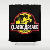 CLASSIC ARCADE Shower Curtain