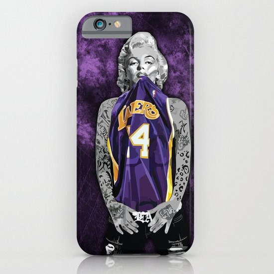 Marilyn monroe los angeles lakers with tattoos iphone for Laker tattoo designs