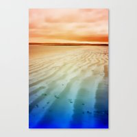life on the beach Canvas Print