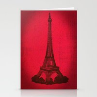 Eiffel 2  Stationery Cards