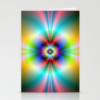 Neon Energies Stationery Cards