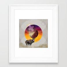 Agonie Framed Art Print
