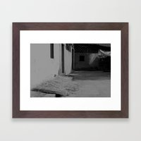 Simple Life. Framed Art Print