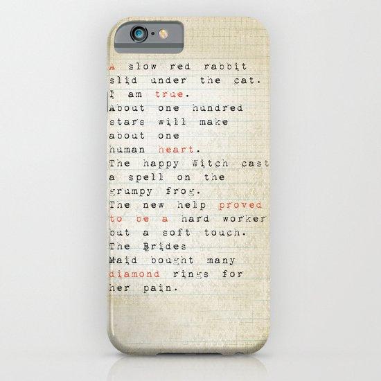 true iPhone & iPod Case
