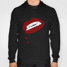 Female vampire mouth Hoody