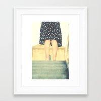 My darling, Henriette Framed Art Print
