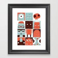 The Monster Club Framed Art Print