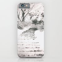iPhone Cases featuring Winter Path by Vivienne Gucwa