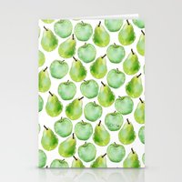 Apples And Pears Stationery Cards
