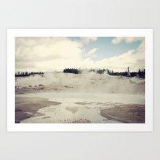 The Earth Dreams Art Print