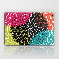 Big Tropical Flowers Laptop & iPad Skin