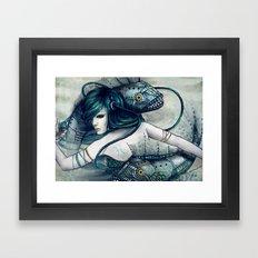 Zodiac Sign: Pisces Framed Art Print