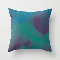 the 11 trees for x'mas this year Throw Pillow