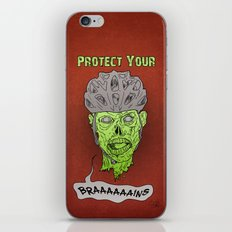 Zombie Brains iPhone & iPod Skin