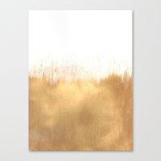 Brushed Gold Canvas Print