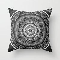 Geomathics Throw Pillow