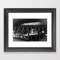 Arrows To The Sky Framed Art Print