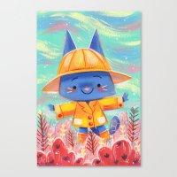 Raincoat 2 Canvas Print