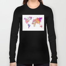 Map of the world Long Sleeve T-shirt