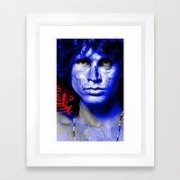MORRISON'S EYES Framed Art Print