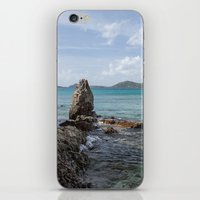 Caribbean Beach Photograph iPhone & iPod Skin