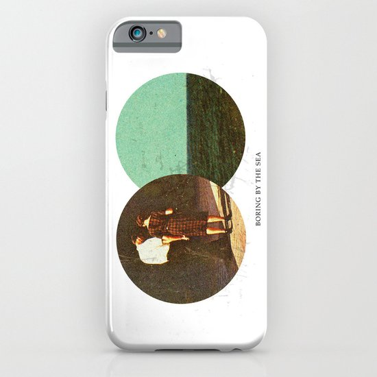 Boring by The Sea | Collage iPhone & iPod Case