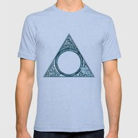 Triangle Mens Fitted Tee Tri-Blue SMALL