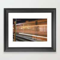 Recovery Ain't Easy Framed Art Print
