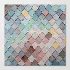 Urban Mosaic Canvas Print