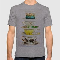 Tip Top TeaCup Mens Fitted Tee Athletic Grey SMALL