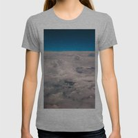 View Of The Sky Womens Fitted Tee Athletic Grey SMALL