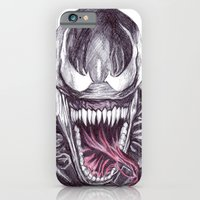 iPhone & iPod Case featuring Venom by DeMoose_Art