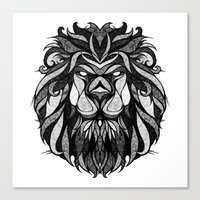 Signs Of The Zodiac - Le… Canvas Print